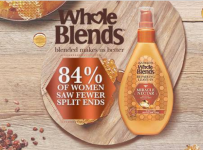 Whole Blends Honey Miracle Nectar Leave-In Treatment Sample