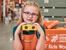 Home Depot Kids Workshop Build A FREE Wooden Project (Register Now)