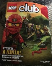 FREE Lego Magazine Subscription for kids