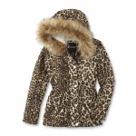 Kmart Leopard Print Girls Jacket Just $8.99