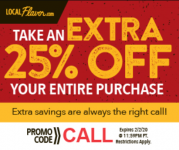 Save 25% on LocalFlavor.com!