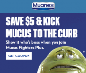 Mucinex $5 OFF Coupon
