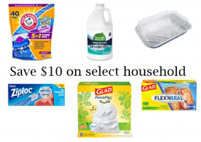 Amazon: $10 off $40 Household Items