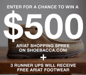 Win a $500 Ariat Footwear Shopping Spree Sweepstakes