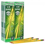 Ticonderoga Unsharpened #2 Pencils STOCK UP Price = just $0.10 per pencil!